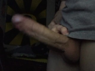 Teasing My Perfect Cock