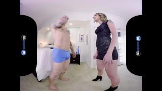 BaDoinkVR.com Blonde Hottie Sophia Grace Sneaks On You For A Hard Cock Pov amateur