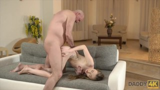 DADDY4K. Russian lessons in bed 2014 pov