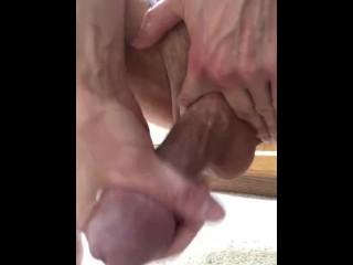Ball Tugging Wank