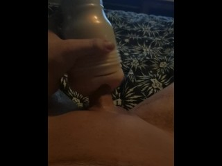 Jerk off with my toy