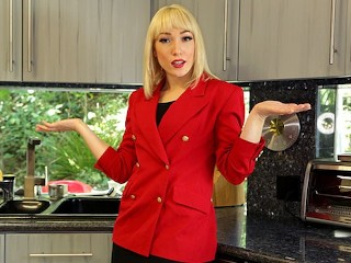 PropertySex - Agent wearing red blazer fornicates in mansion