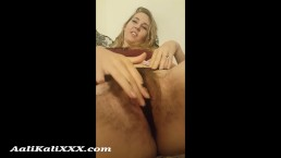 Hairy Aali Gets Blackmailed into Fucking her StepBrother