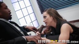Brazzers - Abigail Mac gets some office BBC
