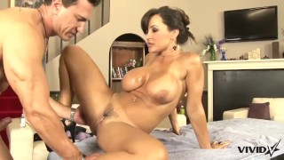 Taste has lisa stunning meat a milf for ann latin cock mom