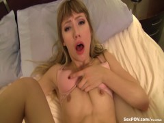 I missed you so much! Virtual Sex with Ivy Wolfe