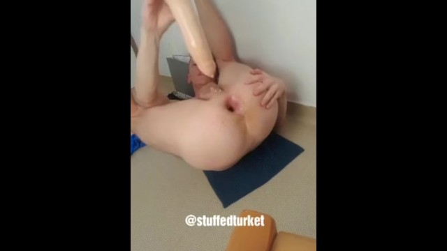 Gay clipz male sex Gay french twink dildo at the gaping asshole