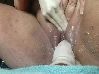 Bbw fucking with multiple toys