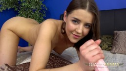 College student Sybil loves teasing older men