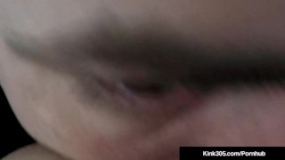 Kink305 - Natalia Mia Gets Ass Eaten & Sucks Dick On Red Bed