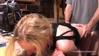 PAINAL Bunny gets her little ass fucked and filled with cum for being bad