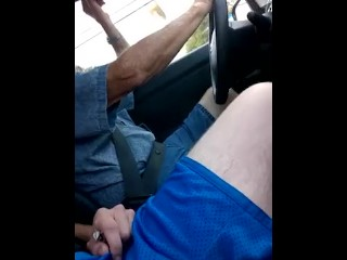 Front seat cock flash right beside taxi man
