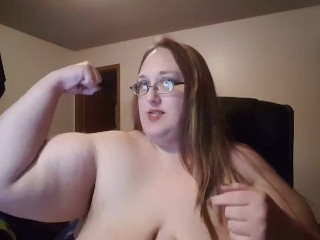 Flexing My Big Muscles :) | SSBBW
