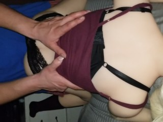 Shyla likes it from behind