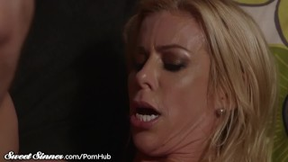 Tits drilled milf gets balls fawx alexis sucks big mother sweetsinner