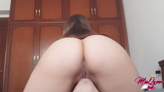 Female heaven intense facesitting tasting incredible orgasm booty pussy