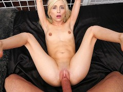 FantasyHD Fuck and dripping creampie with tied up blonde Piper Perri