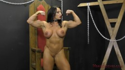 The Muscle Queen Brandi Mae Makes You Worship Her Ass - Femdom JOI