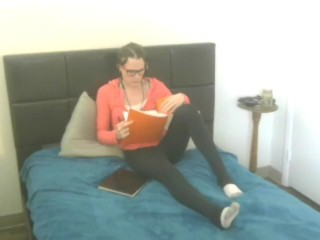 Naughy Book Worm Girl 2