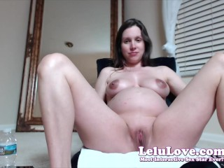 Lelu Love-WEBCAM: 1st Orgasm In Over A Week