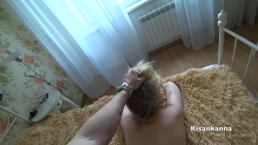 Hard sex with a Russian girl who is very guilty her husband