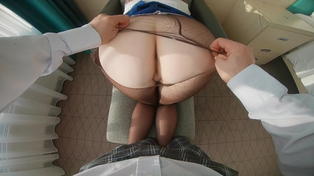 Fucked secretary - Ginger secretary ripped pantyhose ass pounded hard fucked for spilt coffee