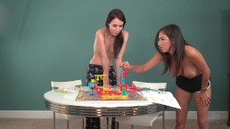 Topless Girls Play: Mouse Trap