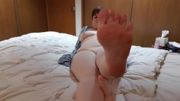 Soft Soles Dildo Foot Job
