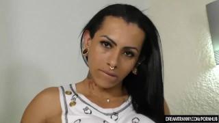 Tranny Peels Off Her Clothes and Fucks a Dudes Ass