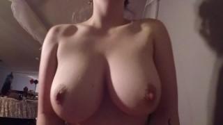 Loving Couple Fuck, Titty Bouncing Cum
