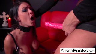 Red and red strapon room action tits pornstar