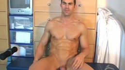 Full video, male masturbator to handsome str8 guy in a porn. Nicolas