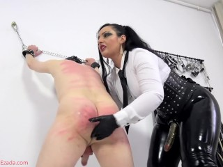 Fucked and milked after whipping Preview