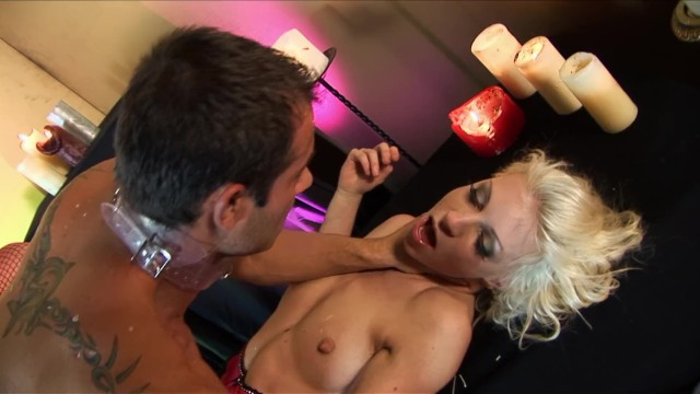 Two Whores Melt Wax on Big Cock Dude and Get Fucked and Facialed 17