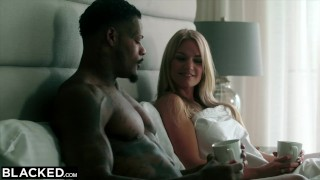 BLACKED Curvy Blonde Has Secret Sex With Married BBC