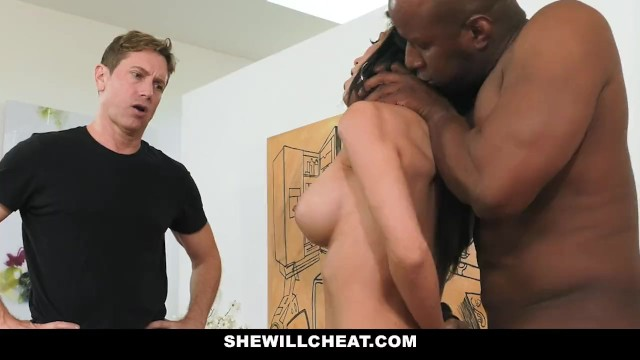 She Will Cheat - Hot Busty Wife Cheats With Massive Black Cock 8
