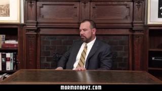 MormonBoyz - Mormon Teen Barebacked By Bear Daddy Gays daddy