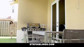 StepSiblings - Asshole Stepbrother Gets Lapdance From Stepsister