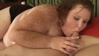 Big Ass SSBBW Swallows Huge Cock porno