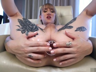Lena Kelly Solo Jack Off and Ass Play