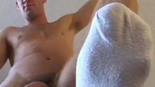 Alex is a muscular big cocked jock who loves masturbating Hunk twink