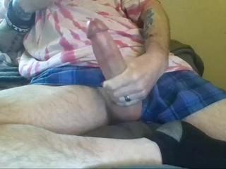 J srotking his big cock