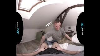 VirtualRealGay.com - Hot soldier Tub 3d