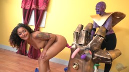 The Infinity Gauntlet Sex Machine!