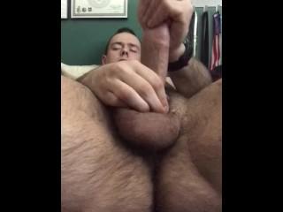 Male Masturbaition,  Fingering Himself Anally