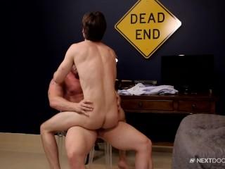 NextDoorStudios – Horny boy fucked by sexy daddy