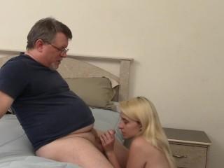 Blonde Amateur Swallow Huge Load