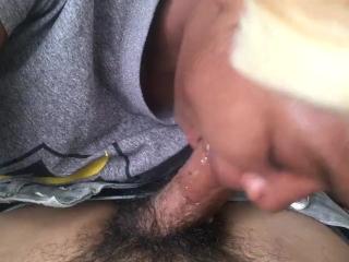 Sloppy deep throat