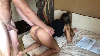 Preview 1 of She wants to study but Anal is in her mind.HD