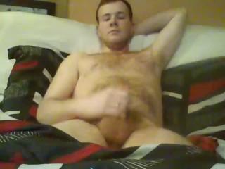 Hung male solo amateur masturbation...